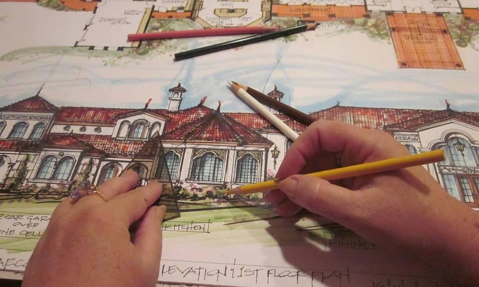 Orlando Custom Home Designer, 30,000 s.f. Mediterranean Mansion