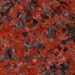 African Red Granite Countertops are perfect for the homeowner's Coke Cola Collection.