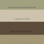 Beach House C: Benjamin Moore paint colors