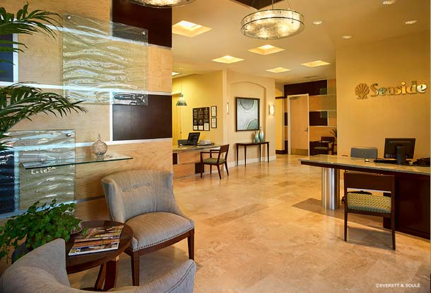 Portfolio-Commercial-Seaside National Bank, Lake Mary, Florida, Contemporary Lobby