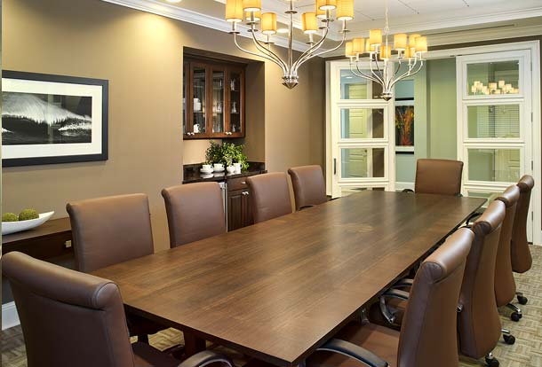 Portfolio, Commercial, Seaside National Bank, Palm Beach, Florida, Community Conference Room, Susan Berry Designer