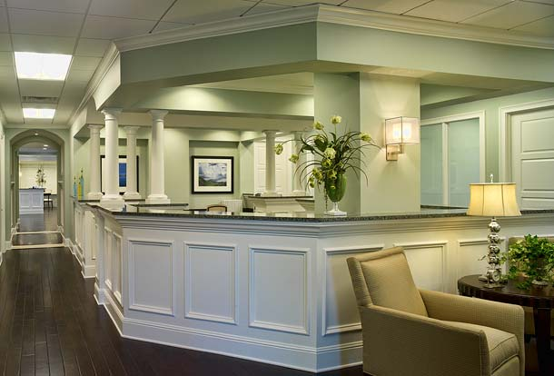Portfolio, Commercial, Seaside National Bank, Palm Beach, Florida, Work Stations, Susan Berry Designer