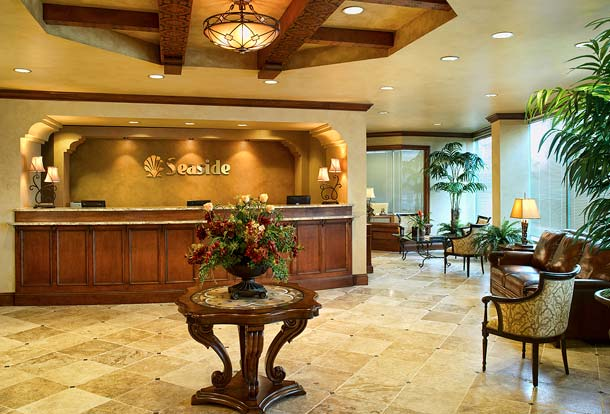Seaside National Bank, Windermere, Florida, Lobby, Mediterranean Style