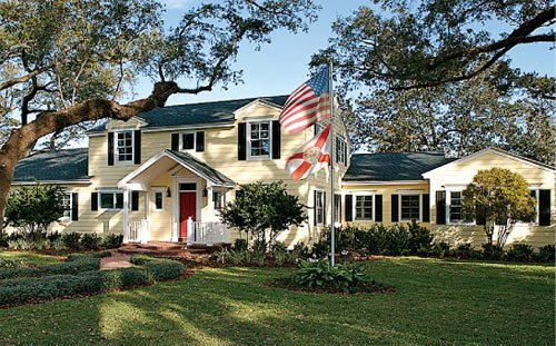 Orlando Colonial Home, Remodel and Restoration design by Susan Berry, Classical Home Design, Inc.