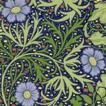 SBHDjohn henry dearle-1890s-'seaweed' textile design
