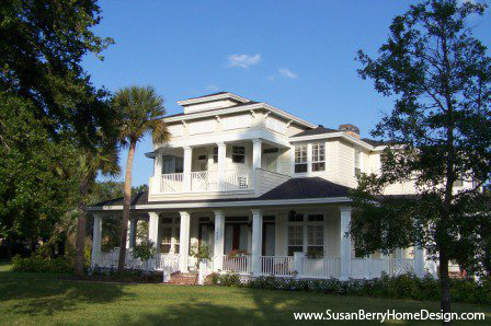 New Home Design, Key West Style Home, Winter Park, Florida by Susan P. Berry, designer