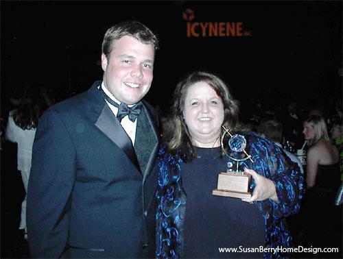 Susan Berry 2005 Aurora Award, Concept Live Design, SEBC-AIBD